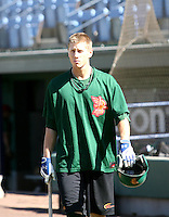 Drew Rundle / Boise Hawks..Photo by:  Bill Mitchell/Four Seam Images