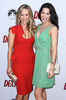HOLLYWOOD, CA - JUNE 15: Julie Benz and Jaime Murray arrive at the premiere screening of Showtime's 'Dexter' Season 8 at Milk Studios on June 15, 2013 in Hollywood, California. (Photo by Celebrity Monitor)