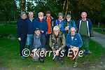Fishermen from the Killarney Salmon and Trout fishing club who at the weigh in of the Bambury Cup in Ross Castle on Sunday evening front row l-r: Gary Fleming Steve Campbell, DJ O'Riordan. Back row: Bart Bambury, Anthony Griffin, William Moloney, Anthony O'Connor, Pat Casey, Stuart Steeedwood and John O'Callaghan