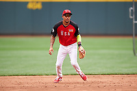 Team USA shortstop JP Crawford (3) during practice before the MLB All-Star Futures Game on July 12, 2015 at Great American Ball Park in Cincinnati, Ohio.  (Mike Janes/Four Seam Images)