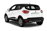 Car pictures of rear three quarter view of 2017 Renault Capture Initiale-Paris 5 Door SUV Angular Rear