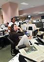 Columnnist Martha Carr is deep in thought at The Times-Picayune in New Orleans, Wednesday, April 5, 2006..(Cheryl Gerber for New York Times)..