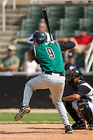 Augusta designated hitter Brett Pill (9) at bat versus Kannapolis at Fieldcrest Cannon Stadium in Kannapolis, NC, Monday, September 3, 2007.