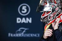 27th March 2021; Sakhir, Bahrain; F2 Grand Prix of Bahrain; Ticktum Dan (gbr), Carlin, Dallara F2 during the 1st round of the 2021 FIA Formula 2 Championship on the Bahrain International Circuit, in Sakhir, Bahrain -