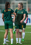 Australia vs Uzbekistan during the AFC U-19 Women's Championship China group A match at the Jiangsu Training Base Stadium on 22 August 2015 in Nanjing, China. Photo by Xaume Olleros / Power Sport Images