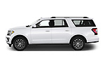 Car Driver side profile view of a 2020 Ford Expedition Limited-MAX 5 Door SUV Side View