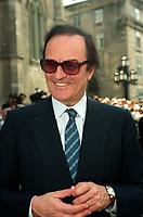 Charles Dutoit<br />  aux <br /> Funerailles de Jean Drapeau, le 13 aout 1999<br /> a la Basilique Notre-Dame.<br /> <br /> PHOTO :  Agence Quebec Presse