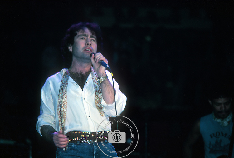Paul Rodgers live at Madison Square Garden in 1983.