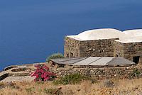- island of Pantelleria,  typical house said dammuso ....- isola di Pantelleria, abitazione tipica detta dammuso
