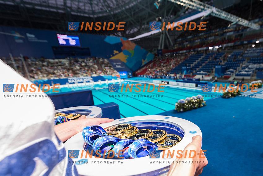 Medals<br /> Day 9 01/08/2015<br /> XVI FINA World Championships Aquatics<br /> Synchro<br /> Kazan Tatarstan RUS July 24 - Aug. 9 2015 <br /> Photo Giorgio Scala/Deepbluemedia/Insidefoto