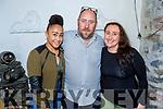 Nicola Thomas, Michael and Mary Moloney enjoying the evening in Bella Bia on Sunday.