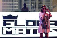 São Paulo, SP - 30.11.2014 - FESTIVAL SP RAP- A rapper Flora Matos durante o SP RAP na praça das artes no centro da capital paulista na tarde deste domingo, (30). (Foto: Renato Mendes / Brazil Photo Press)