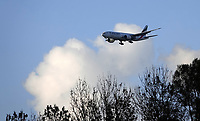 Nederland  Halfweg -  2020.   Emirates cargo vlucht.   Foto : ANP/ HH / Berlinda van Dam