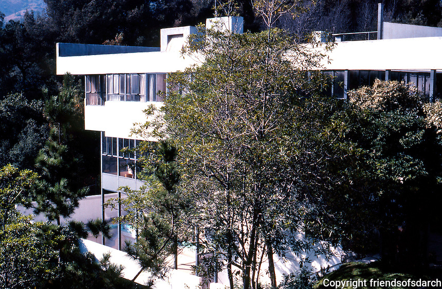 Richard Neutra: Lovell House, 1929. Photo '82.