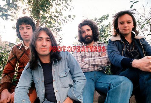 10cc 1973 Graham Gouldman, Lol Creme, Kevin Godley and Eric Stewart<br /> © Chris Walter