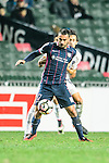 Rufino Segovia of SC Kitchee in action during the Nike Lunar New Year Cup 2017 match between SC Kitchee (HKG) and Auckland City FC (NZL) on January 31, 2017 in Hong Kong, Hong Kong. Photo by Marcio Rodrigo Machado / Power Sport Images
