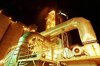 Secador, uma das etapas mais importantes do processo de produção de caulim, que é trazido de Ipixuna até Barcarena no Pará, Brasil por um mineroduto construído pela Parapigmentos.<br />12/09/2000.<br />©Foto Paulo Santos/Interfoto