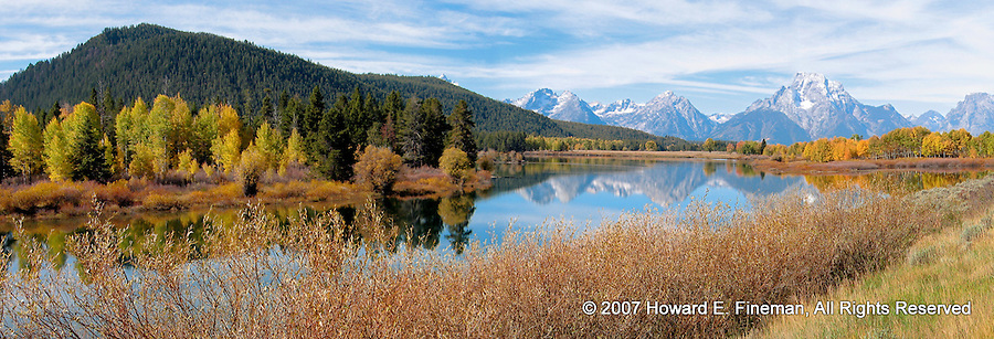 Oxbow Bend, Snake River