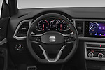 Car pictures of steering wheel view of a 2020 Seat Ateca FR 5 Door SUV Steering Wheel