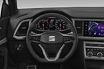 Car pictures of steering wheel view of a 2020 Seat Ateca FR 5 Door SUV Steering Wheel