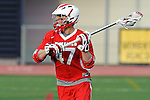 Baltimore, MD - March 3:  Attackmen Jordan Greenfield #47 of the Fairfield Stags during the Fairfield v UMBC mens lacrosse game at UMBC Stadium on March 3, 2012 in Baltimore, MD.