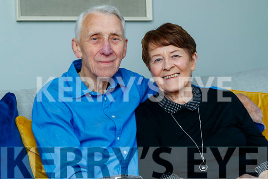 Therese and Tim Collins celebrating their 50th annivsary at home in Clogherbrien.