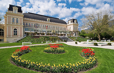Austria, Upper Austria, Salzkammergut, Bad Ischl: Congress- and Theatre-Building