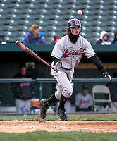 April 5, 2007:  Justin Fuller of the Great Lakes Loons at Coveleski Stadium in South Bend, IN.  Photo by:  Chris Proctor/Four Seam Images