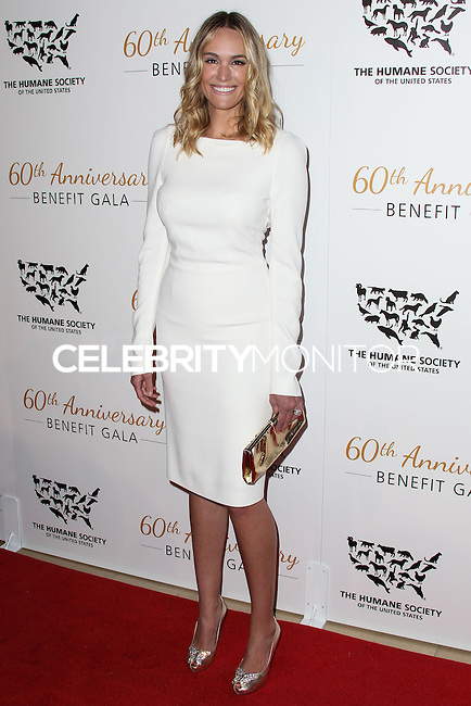BEVERLY HILLS, CA, USA - MARCH 29: Ashlan Cousteau at The Humane Society Of The United States 60th Anniversary Benefit Gala held at the Beverly Hilton Hotel on March 29, 2014 in Beverly Hills, California, United States. (Photo by Xavier Collin/Celebrity Monitor)