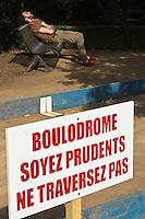 Europe/France/Midi-Pyrénées/31/Haute-Garonne/Toulouse: Jardin Raymond -VI prés du Musée d'Art Moderne et Contemporain