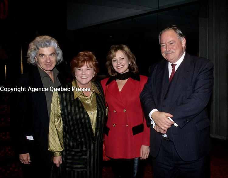 FILE -<br /> Jacques Parizeau<br /> circa 1988<br /> <br /> PHOTO  : Pierre Roussel - Agence Quebec Presse