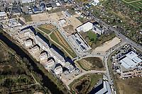Wohnsiedlung Am Schilfpark: EUROPA, DEUTSCHLAND, HAMBURG, (EUROPE, GERMANY), 01.04.2019: Wohnsiedlung Am Schilfpark
