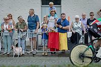 roadside fans<br /> <br /> 88th UCI Road World Championships 2021 – ITT (WC)<br /> Men's Elite Time trial from Knokke-Heist to Brugge (43.3km)<br /> <br /> ©Kramon