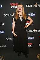 HOLLYWOOD, CA - OCTOBER 12: Maya Korn at the 21st Screamfest Opening Night Screening Of The Retaliators at Mann Chinese 6 Theatre in Hollywood, California on October 12, 2021. Credit: Faye Sadou/MediaPunch