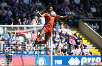 Sido Jombati of Wycombe Wanderers during the Sky Bet League 1 match between Rochdale and Wycombe Wanderers at Spotland Stadium, Rochdale, England on 19 April 2019. Photo by Andy Rowland.
