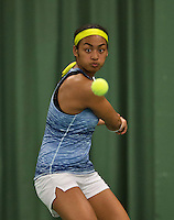 Rotterdam, The Netherlands, March 19, 2016,  TV Victoria, NOJK 14/18 years, Dainah Cameron (NED)<br /> Photo: Tennisimages/Henk Koster