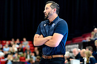 GRONINGEN - Basketbal, Donar - Groen Uilen, voorbereiding seizoen 2021-2022, 21-08-2021,  Donar coach Matthew Otten
