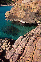 Spanien, Balearen, Ibiza, Bucht von Cala Salada