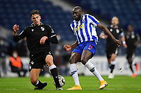 22nd April 2021; Dragao Stadium, Porto, Portugal; Portuguese Championship 2020/2021, FC Porto versus Vitoria de Guimaraes; Moussa Marega of FC Porto cuts back against Jorge Fernandes of Vitoria de Guimaraes