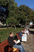 Im Esplanadenpark, Helsinki, Finnland