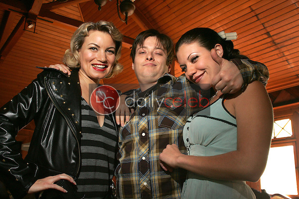 """Rena Riffel with Edward Furlong and Tiffany Shepis<br />on the set of the upcoming feature film """"Dark Reel"""" slated for June 2007 release. Private Location, Altadena, CA. 11-15-06<br />Dave Edwards/DailyCeleb.com 818-249-4998<br />Exclusive"""