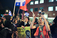 A group takes part into a protest in Quebec City Monday May 28, 2012. The students strike over tuition fee in the province of Quebec is now more than 100 days old.<br /> <br /> PHOTO :  Francis Vachon - Agence Quebec Presse