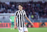 TORINO ITALY- October 2 <br /> Stadio Olimpico Grande Torino<br /> Federico Chiesa portrait<br /> during the Serie A match between Fc  Torino and Juventus Fc at Stadio Olimpico on October 2, 2021 in Torino, Italy.