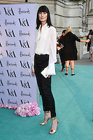 Erin O'Connor<br /> arrives for the V&A Summer Party 2016, South Kensington, London.<br /> <br /> <br /> ©Ash Knotek  D3135  22/06/2016
