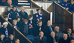 Charles Green in the directors box