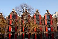 Nederland  Amsterdam -  2020.  Herfst in Amsterdam.    Foto : ANP/ HH / Berlinda van Dam