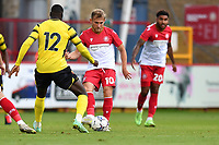 Charlie Carter of Stevenage FC during Stevenage vs Watford, Friendly Match Football at the Lamex Stadium on 27th July 2021