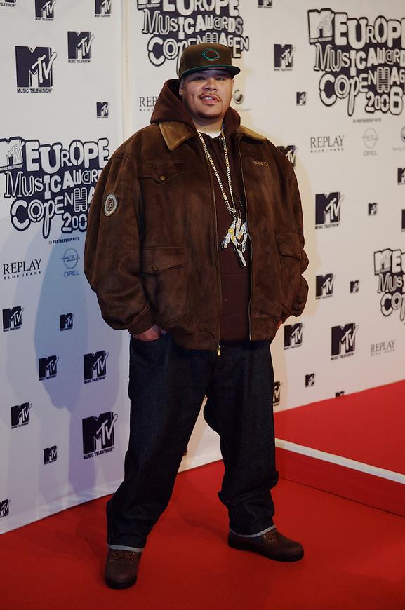 København, 20061102. MTV Europe Music Awards. Red Carpet. Fat Joe.