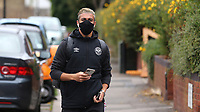 Said Benrahma of Brentford arrives at the ground during Brentford vs Wigan Athletic, Sky Bet EFL Championship Football at Griffin Park on 4th July 2020