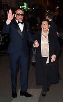 Actor Jean Claude Van Damme with his Mother Eliana - Premiere of the film 'Jean Claude Van Johnson' at the Cinema Grand Rex on Boulevard Poissonnière in Paris, France, December 12 2017. # PREMIERE DE 'JEAN CLAUDE VAN JOHNSON' A PARIS